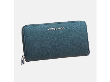 Dámská tyrkysová peněženka Armani Jeans