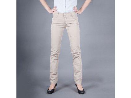 Stylové dámské džiny Armani Jeans béžové