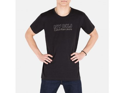 Praktické černé tričko CK
