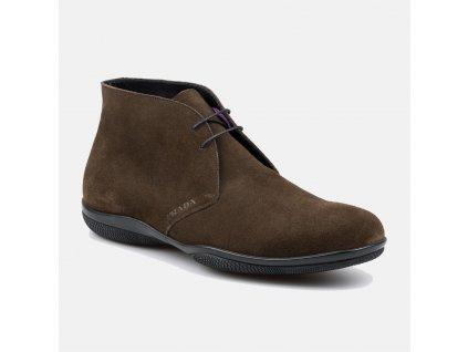Elegantní pánská semišová obuv Prada