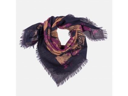 Stylový dámský šátek Vivienne Westwood barevný