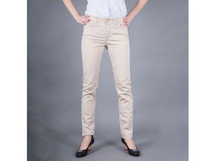 Značkové dámské džiny Armani Jeans béžové
