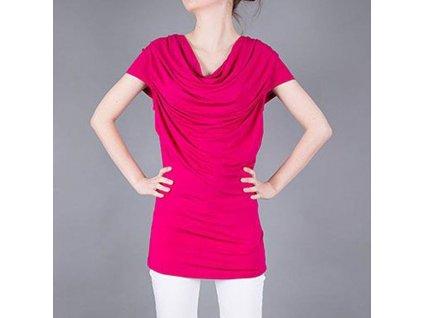 Tričko AJ červené dámské