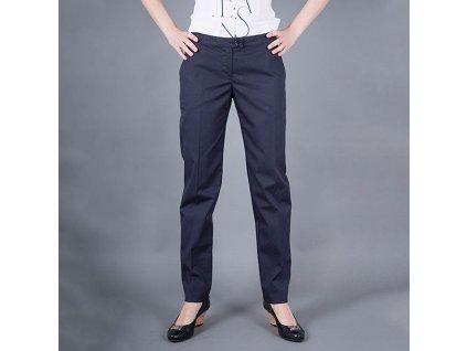Luxusní kalhoty Armani Jeans modré dámské