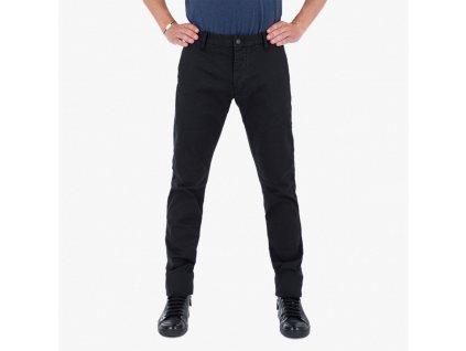 Černý kalhoty Armani Jeans