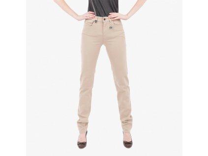 Béžové džíny Armani Jeans push up