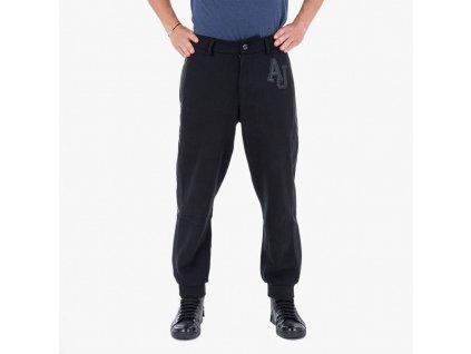 Teplákové kalhoty Armani jeans černý