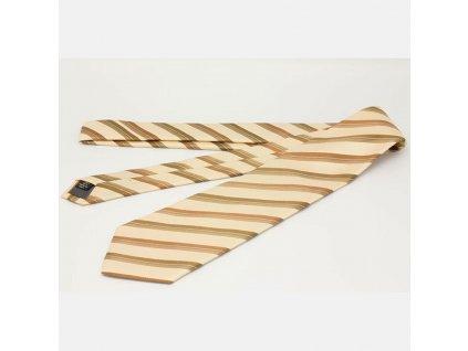 Kravata GFFerre béžová