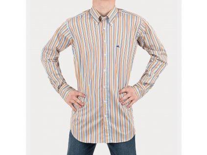 Košile ETRO s barevnými pruhy