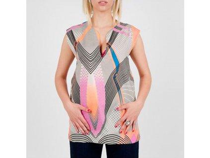 Luxusní dámské Tričko Roberto Cavalli barevné