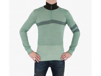 Zelený svetr Armani Jeans