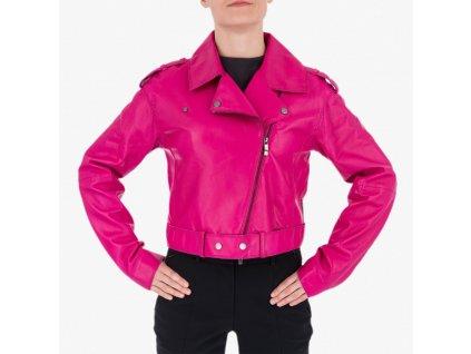 Růžová bunda Armani Jeans