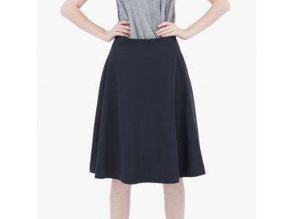 Modrá sukně Armani Jeans