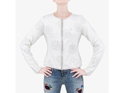 Bílá mikina Armani Jeans