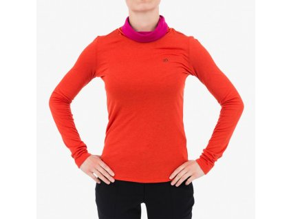 Oranžové tričko Armani Jeans