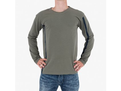 Zelené tričko Armani Jeans
