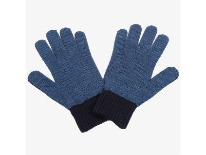 Modré rukavice Armani Jeans