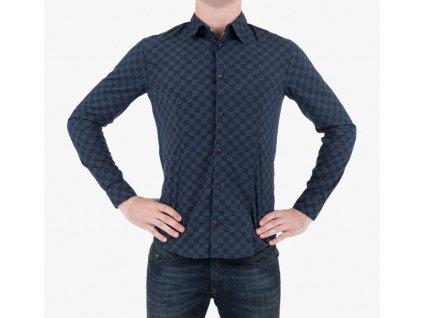 Modrá košile Armani Jeans