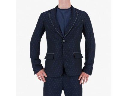 Modré sako Armani Jeans