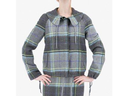 Barevný kabát Armani Jeans