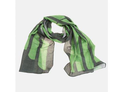Zelená šála Armani Jeans