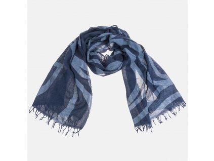 Modrá šála Armani Jeans