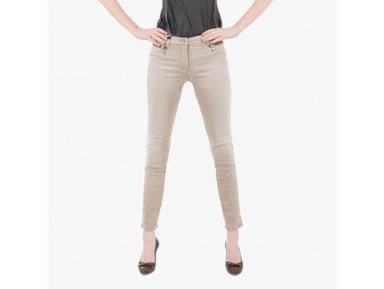Bežové kalhoty Armani Jeans