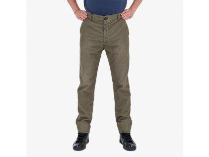 Zelené kalhoty Armani Jeans