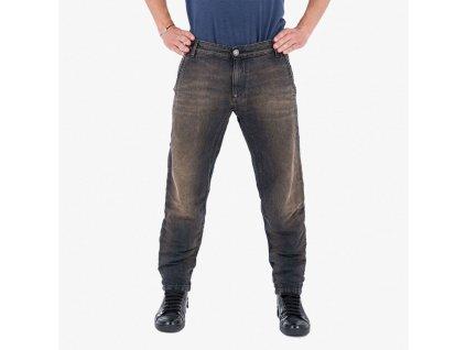 Hnědé džíny Armani Jeans
