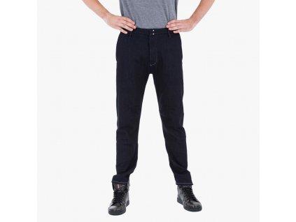 Modré kalhoty Armani Jeans