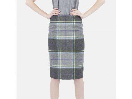 Károvaná sukně Armani Jeans