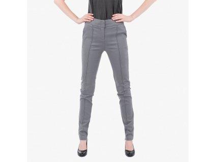 Šedé kalhoty Armani Jeans
