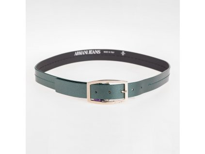 Opasek Armani Jeans zelený