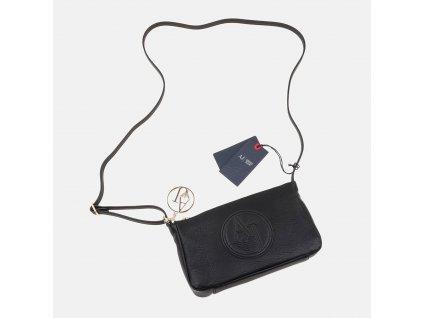 Elegantní černá kabelka Armani Jeans