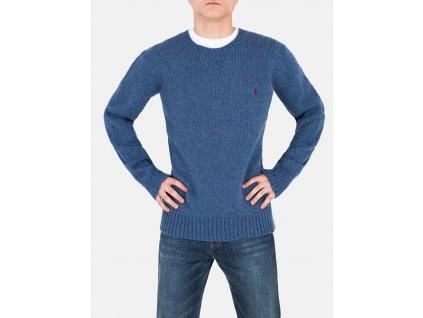 Pánský modrý svetr Ralph Lauren