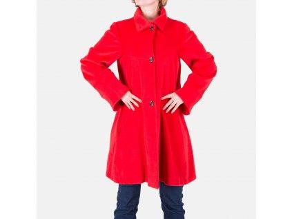 Červený kabát Armani Collezioni