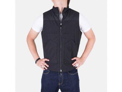 Stylová pánská vesta Armani Jeans černá