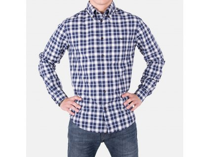 Luxusní pánská košile kostkovaná