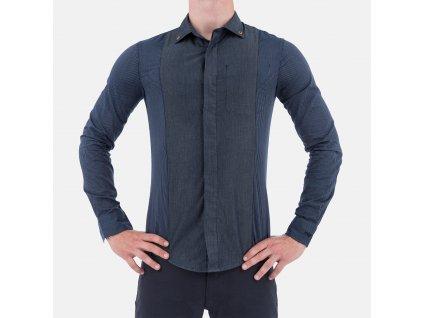 Stylová pánská Košile Armani Jeans denim