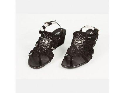 Semišové sandály Cesare Paciotti