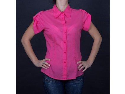 Značková dámská košile Armai růžová