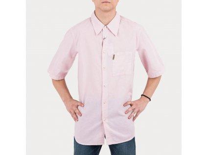 Růžová košile Armani Jeans
