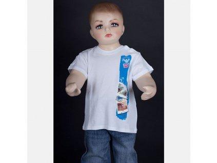 Značkové dětské tričko Armani bílé