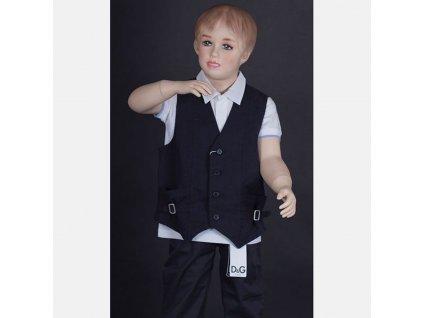 Luxusní dětská vesta Armani tmavě modrá
