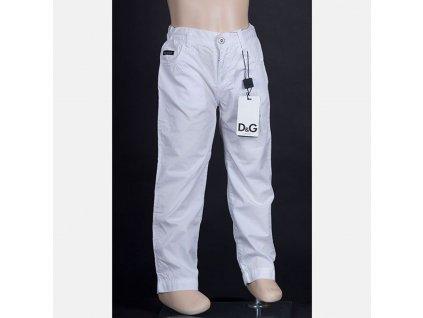 Luxusní dětské džíny D&G bílé