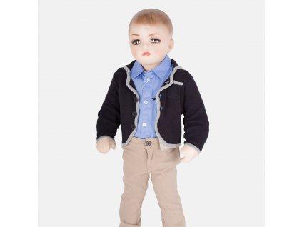 Krásný modrý svetr Armani Baby