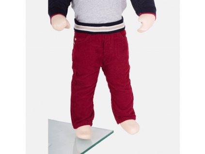 Krásné červené kalhoty Armani Baby