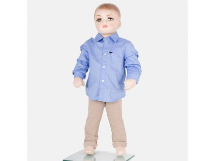 Elegantní modrá košile Armani Baby