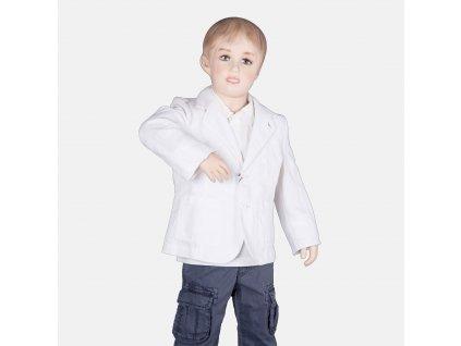 Krásné bílé sako Armani Junior