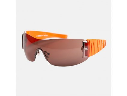 Luxusní sluneční brýle oranžové